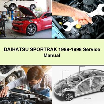 DAIHATSU SPORTRAK 1989-1998 Service Manual PDF Download