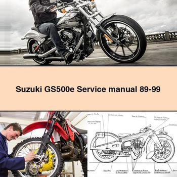 Suzuki GS500e Service Manual 89-99 PDF Download