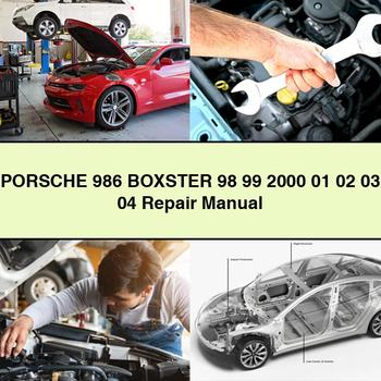 PORSCHE 986 BOXSTER 98 99 2000 01 02 03 04 Repair Manual PDF Download